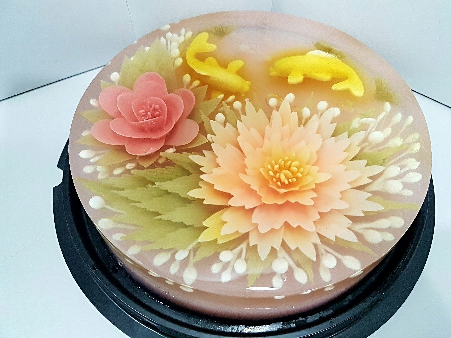 Chinese Jelly Cake Recipe: 3D Jelly Cakes By Libra Cook & Bake