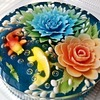 AQUATIC 3D Jelly Cake