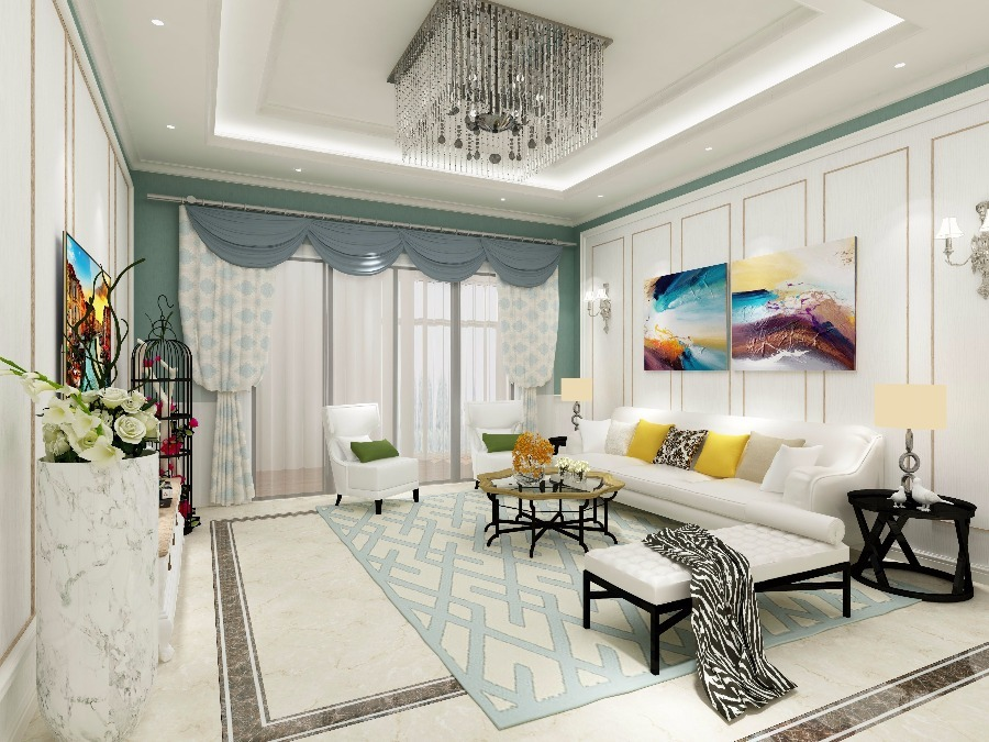 American Style Home Design By Histrong Design M Sdn Bhd