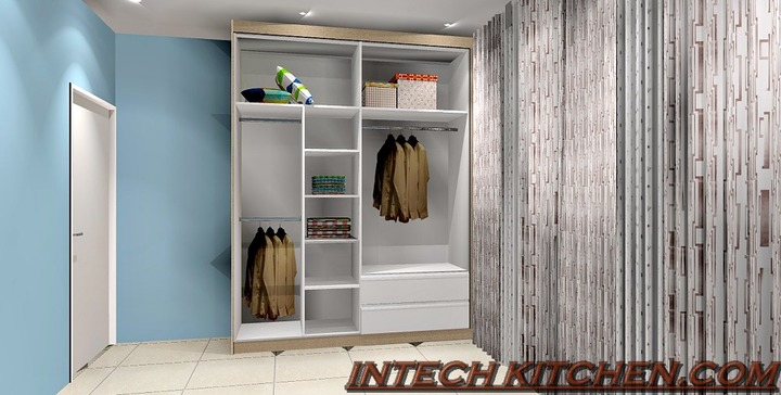 Internal design for wardrobe