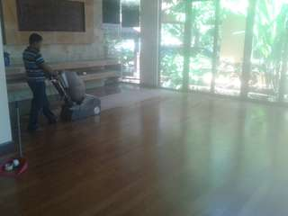 Wood Floor varnishing