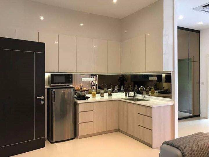 RESIDENTIAL PROJECT by M2 DESIGN SDN BHD - Completed Concept Ideas Inspirations Living Dining Kitchen Bedroom Kitchen Cabinet TV Cabinet / Console Wardrobe Sofa Artwork Kitchen Island - Recommend.my