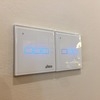 Tempered glass touch screen switch