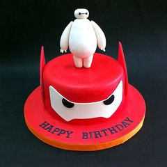 Edible 3d Big Hero 6 character - Baymax