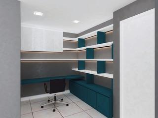 open concept study area
