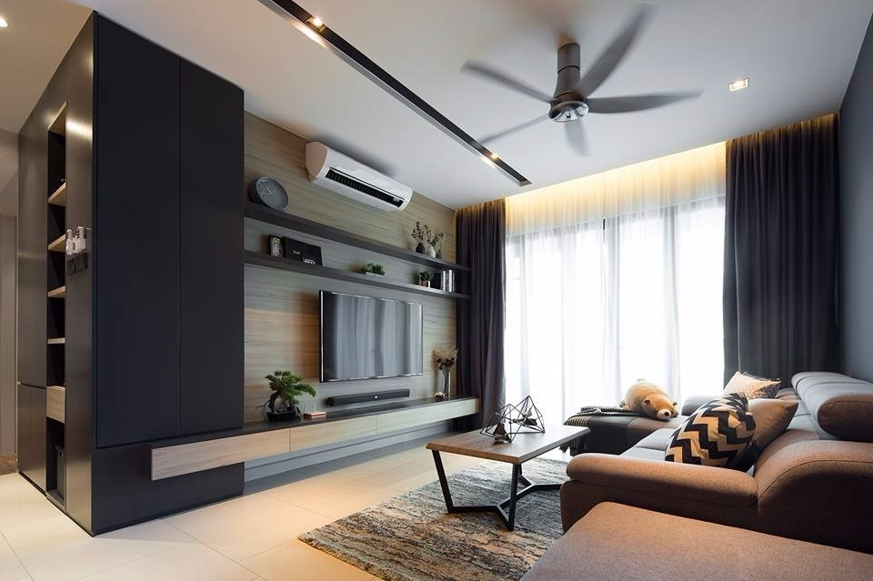 The Reach | Titiwangsa by Box Creative - Completed Above 2400 sqft Condo / Apartment Kitchen Bedroom Living Room Dining Study / Office Modern Contemporary Carpentry Paint Ceiling - Recommend.my