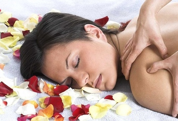 Medium aromatherapy massage