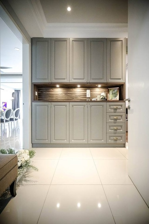 Hampton's Chic by Double Art Design Studio - Completed 1200 - 1800 sqft Condo / Apartment Bedroom Living Room Bathroom Dining Kitchen - Recommend.my