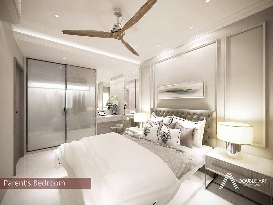 Modern Classic Semi-D house in Melacca by Double Art Design Studio - Concept Above 2400 sqft Semi-D / Bungalow Bedroom Bathroom Kitchen Dining Living Living Room Modern Classic - Recommend.my