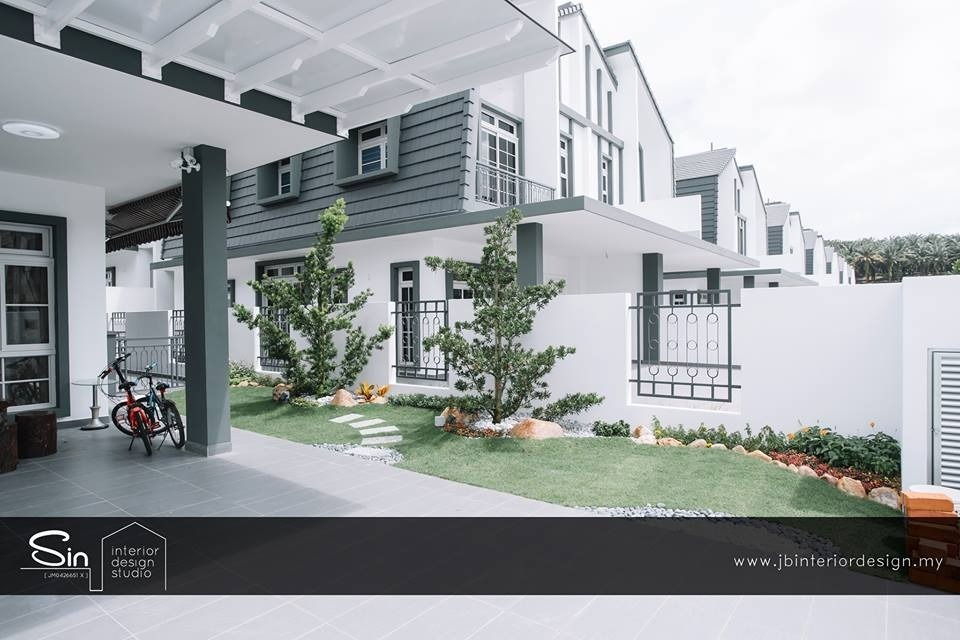 Eco Spring at Iskandar Malaysia. by SIN Interior Design Studio - Completed 1800 - 2400 sqft Semi-D / Bungalow Bedroom Living Living Room Kids Bedroom Bathroom - Recommend.my