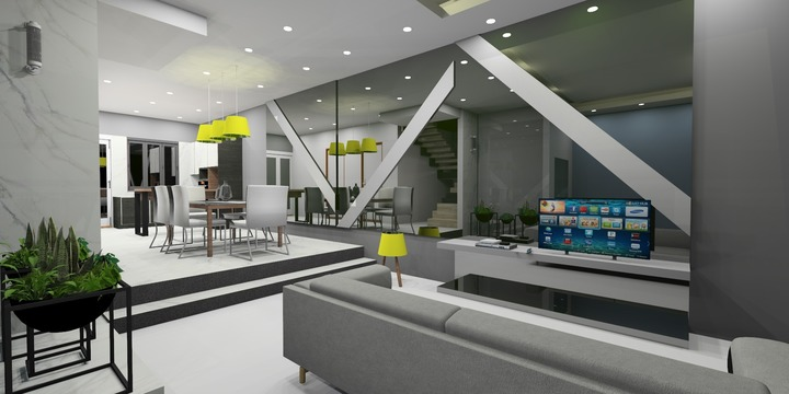 Living Area and Dinning Area. (Copyright of IAGD)