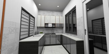 Wet Kitchen Area. (Copyright of IAGD)