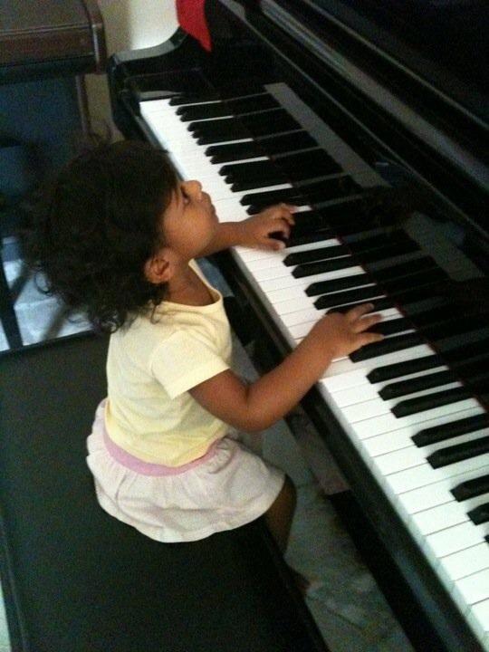 Piano and violin class