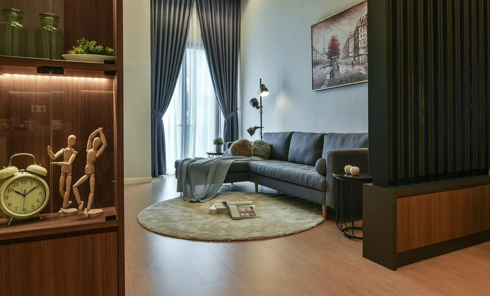 Three28 Tun Razak. by Moonlit Inspiration Sdn Bhd - Completed 800 - 1200 sqft Condo / Apartment Bedroom Kids Bedroom Study / Office Kitchen Living Living Room Balcony Modern Scandinavian - Recommend.my
