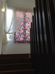 Artistic Roller Blind for Staircase