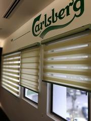 Zebra Blind for the Carlsberg 's hq at shah alam