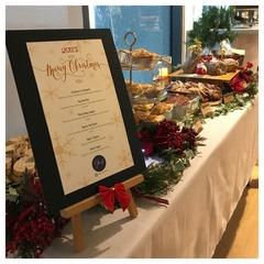 Customised Christmas Menu Dec 2017