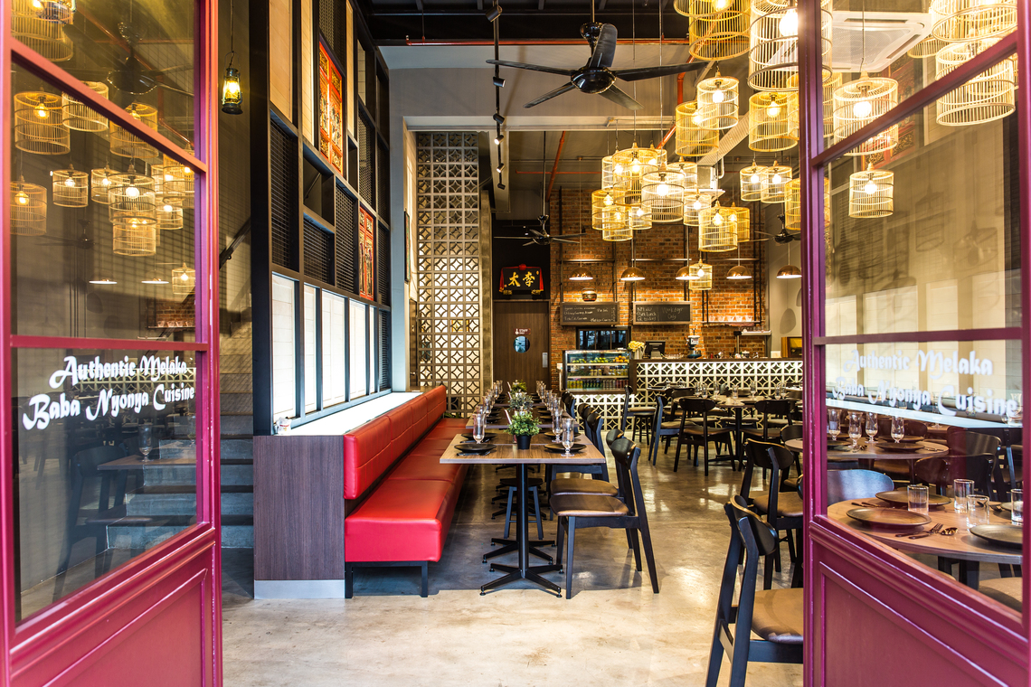 Aunty Lee Restaurant by Nid Design Studio  - Completed 1200 - 1800 sqft Shop / Retail / F&B Restaurant Industrial Modern Urban Chic - Recommend.my