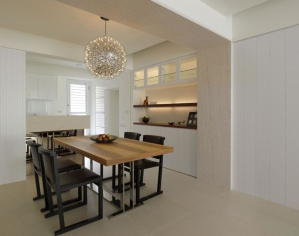 Contemporary Theme @ Newton Road by KAIU Artisan Creative  - Completed 800 - 1200 sqft Condo / Apartment Dining Kitchen Living Living Room Contemporary Electrical Carpentry - Recommend.my
