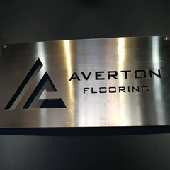 Medium averton signage