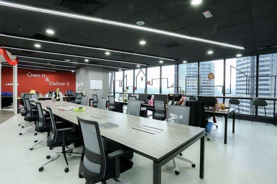 Property Guru Malaysia Office by LM Studio - Completed Above 2400 sqft Office Office Meeting Rooms Reception Modern - Recommend.my