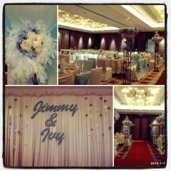 Wedding Theme Color: Turquiose & White