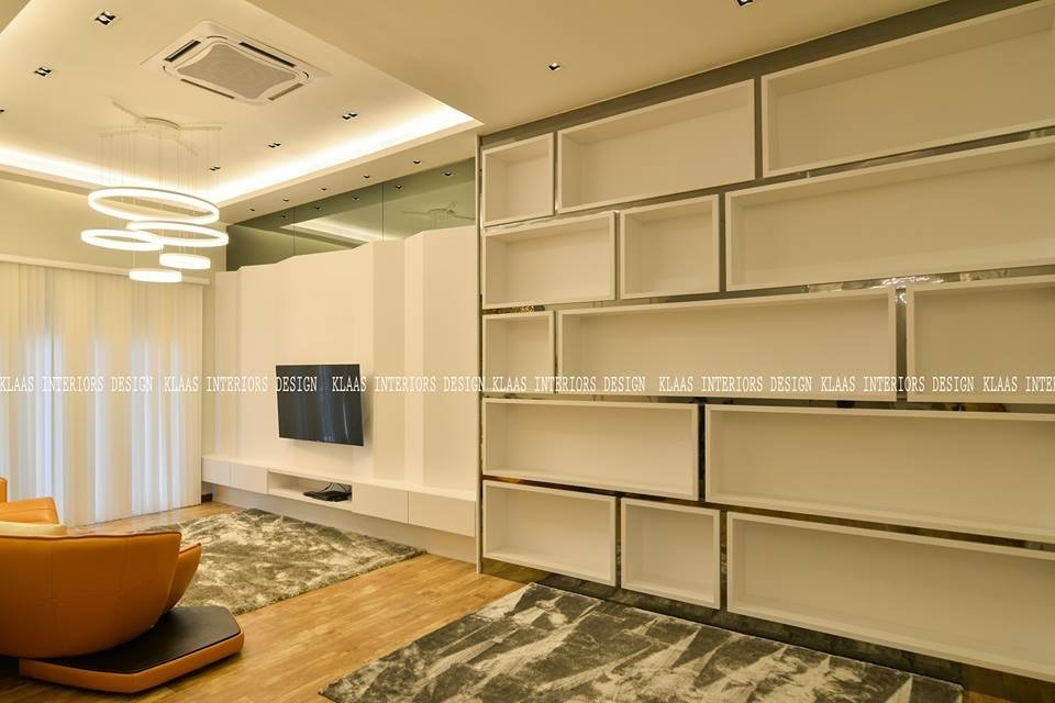 Modern Classic Bungalow in Pekan,Pahang by Klaas Interiors Sdn Bhd (KL Branch) - Completed Above 2400 sqft Semi-D / Bungalow Living Living Room Kitchen Laundry Room Dining Sitting Room Bedroom Kids Bedroom Modern Classic - Recommend.my