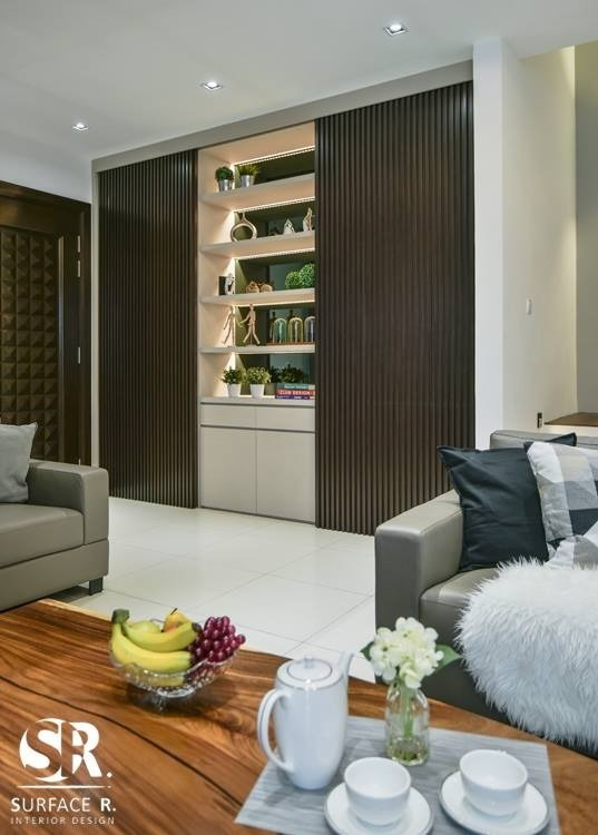 Semi-D House in Setia Utama by Surface R Sdn Bhd - Completed Above 2400 sqft Semi-D / Bungalow Living Living Room Bedroom Dining Kitchen Modern Scandinavian - Recommend.my