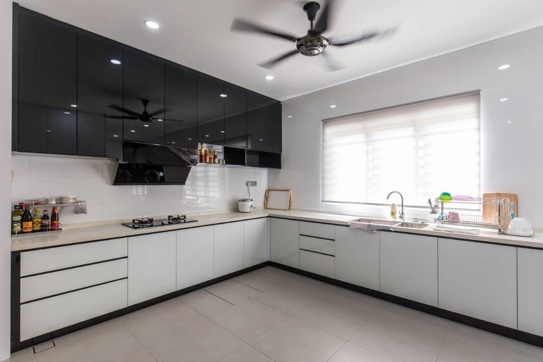 Full Height Modern Kitchen Cabinet By MR CABINET   Kitchen Cabinets Glossy  Modern   Recommend.