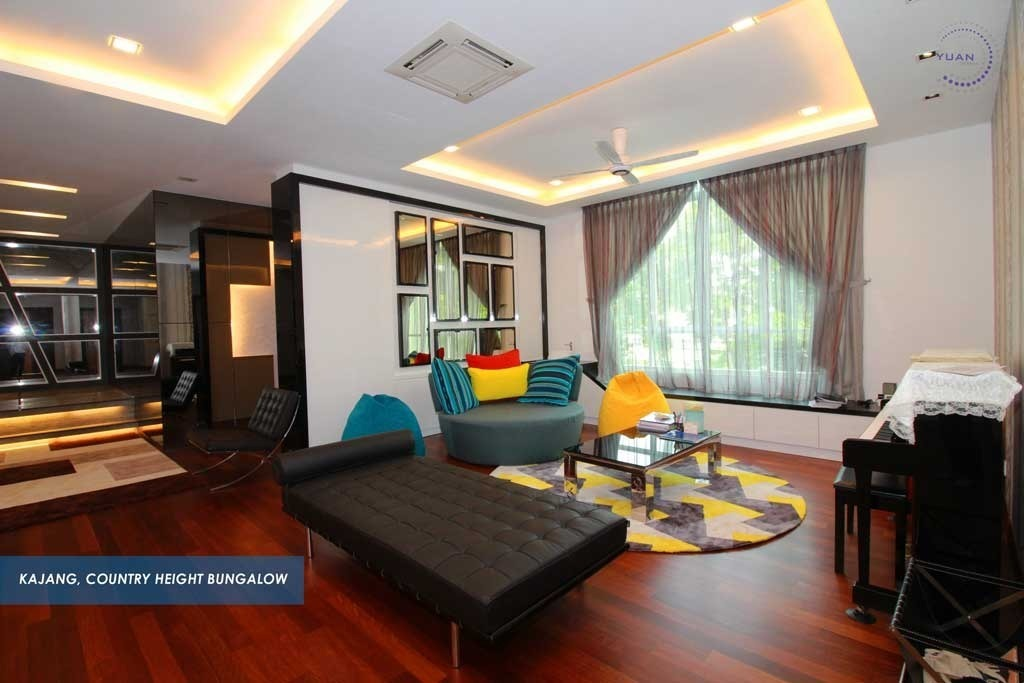 Kajang, Country Height Bungalow by Yuan Design (M) Sdn Bhd - Completed Above 2400 sqft Semi-D / Bungalow Living Room Bedroom Kids Bedroom Dining Balcony Patio - Recommend.my