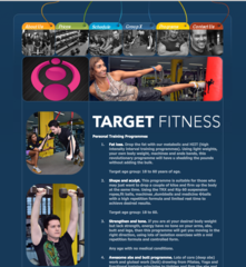 Target Fitness, PJ