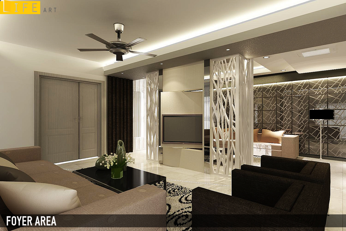 Living By LIFE ART INTERIOR DESIGN SDN BHD