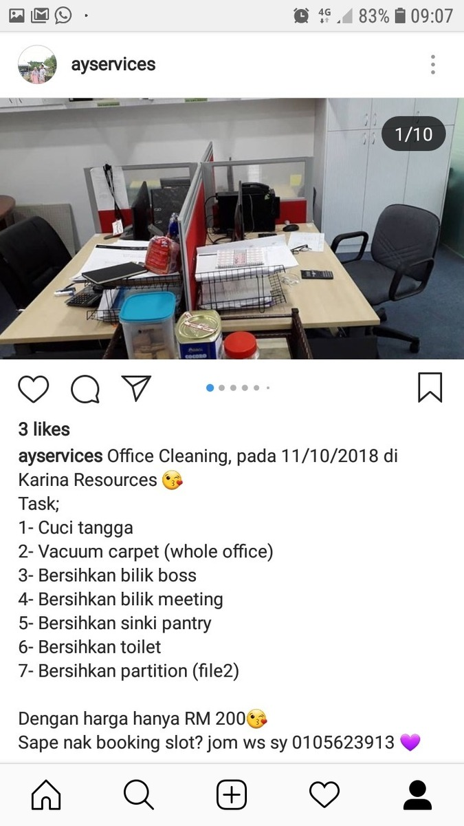 AY SERVICE @ Mohd Shapiyan