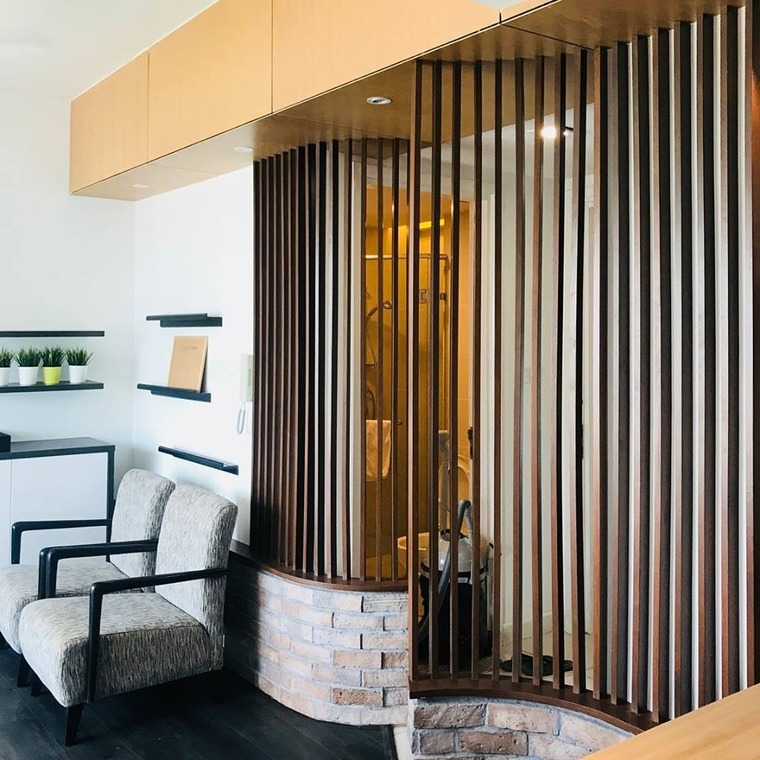 Condo design and build in Kuala Lumpur by ATELIER MO - Completed Below 800 sqft Condo / Apartment Living Room Kitchen Bedroom Modern Contemporary - Recommend.my