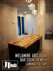 Medium 4g glass door kitchen cabinet 9e
