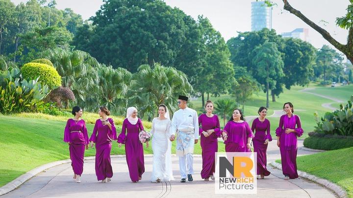 Celebrity Wedding Siti Saleha and Lutfi at TPC Kuala Lumpur
