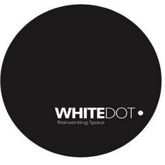Medium white dot construction