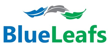 Medium blueleafs logo m size
