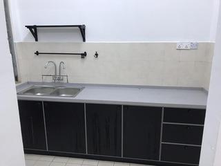 Kitchen cabinet installation