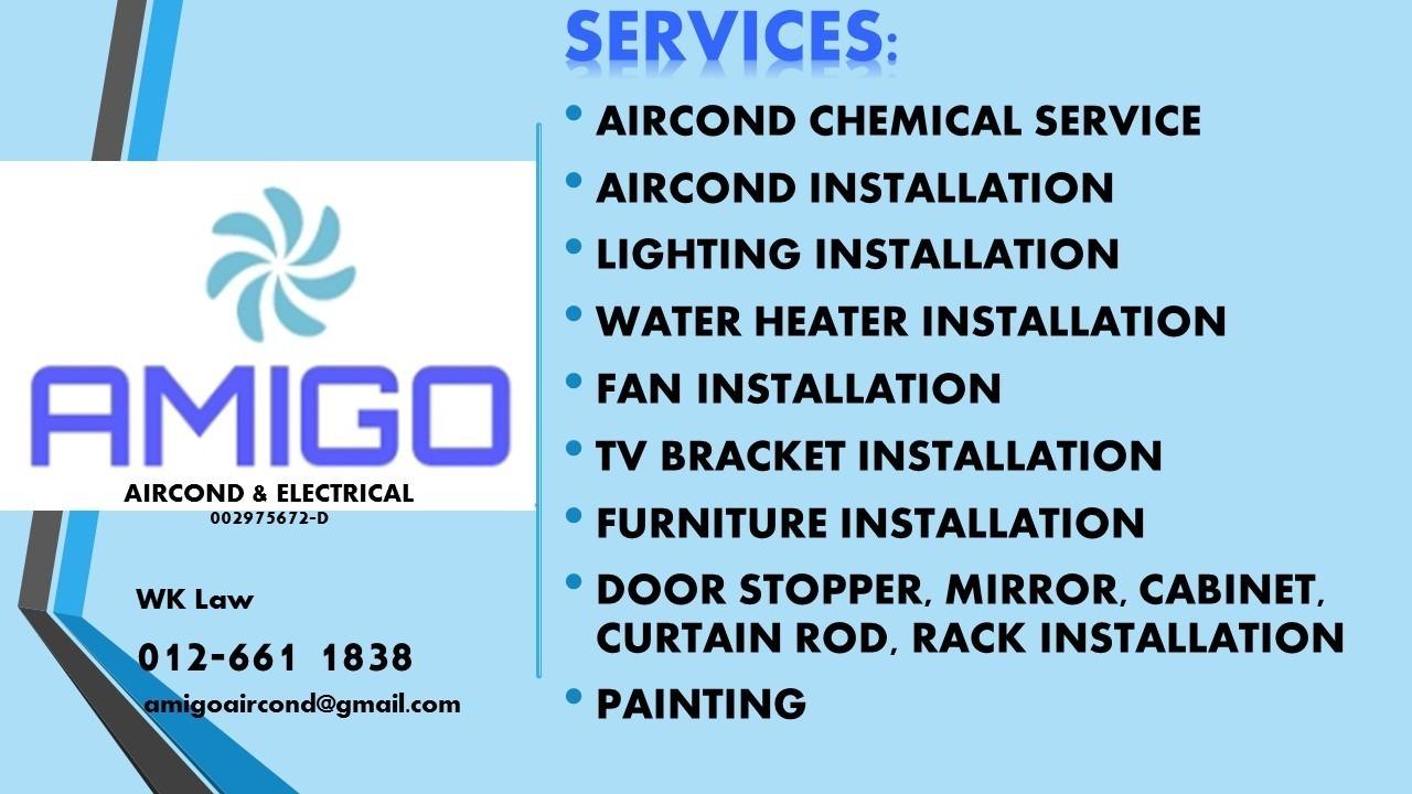 AMIGO AIRCOND & ELECTRICAL