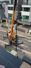 Mobile Crane Shifting concrete