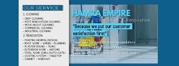 Hamra Empire Cleaning, Renovation, And Decorative Service