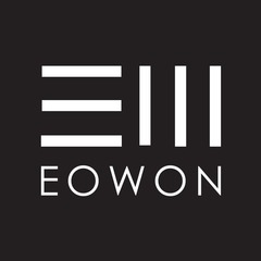 Medium eowon logo black