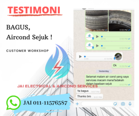 Medium testimoni customer workshop
