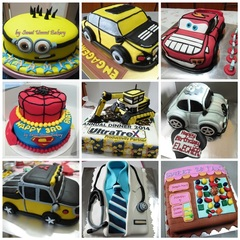 3D Cake & Customized Cake