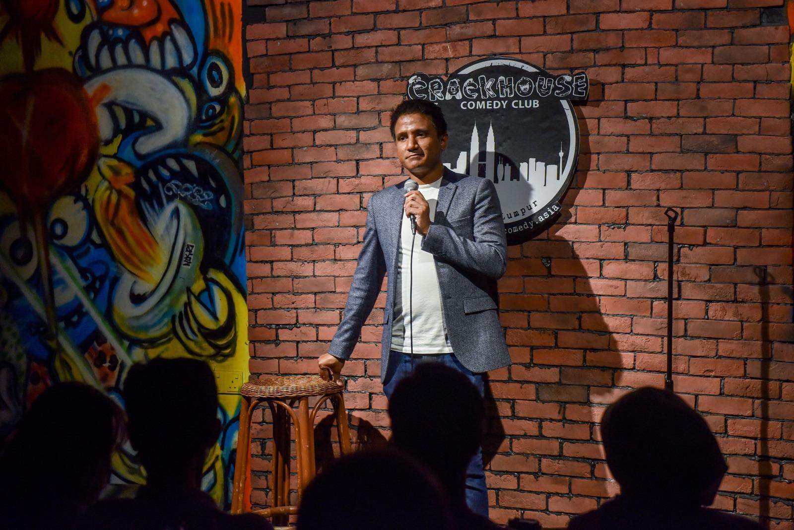 Gajen Nad (Standup Comedian / Emcee)