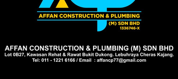 Affan Construction and Plumbing