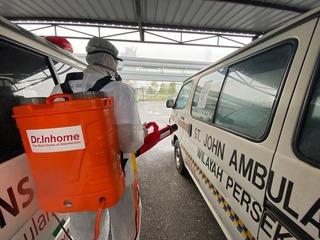 Provided service for St. John Ambulance HQ