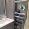 Thumb bathroom cabinet