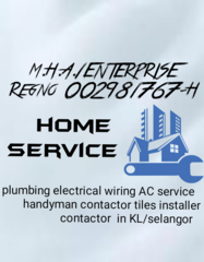 M.H.A.1 ENTERPRISE PLUMBING ELECTRICAL WIRING SERVICE